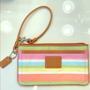 Coach Wristlet - Signature Collection